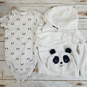 Carter's Panda Bear Bundle
